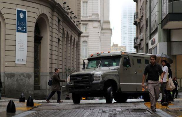 Los camiones de caudales cuentan con sus propios protocolos de seguridad