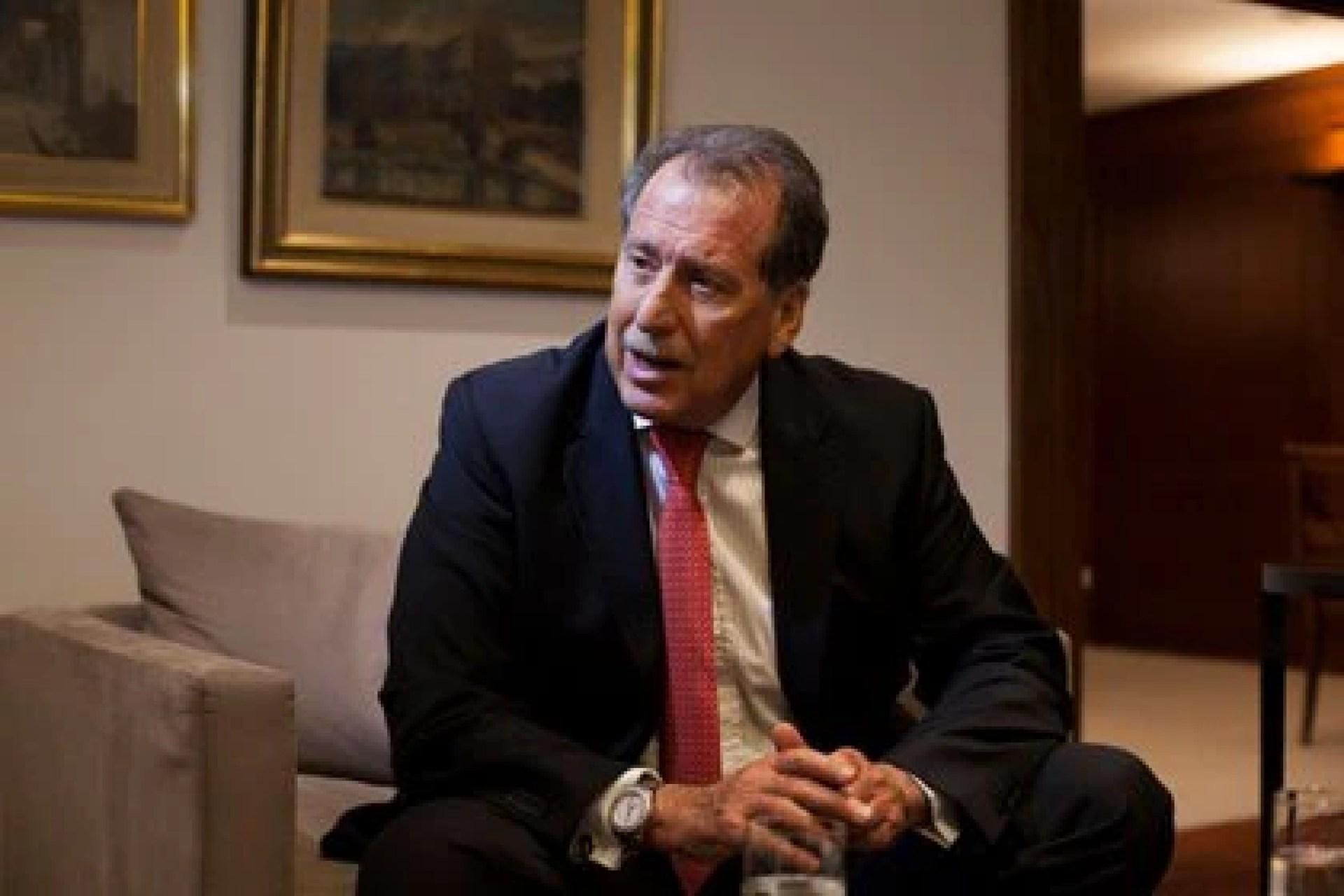El banquero Jorge Brito murió ayer, 20 de noviembre, al caer el helicóptero en que viajaba (Diego Levy / Bloomberg)