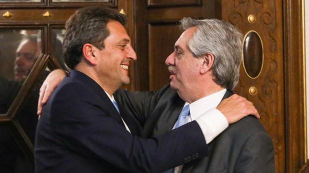 El Presidente convocó a Massa a la Casa Rosada el viernes