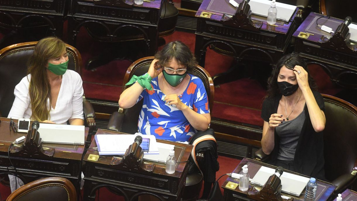 Reunion comision diputados ley aborto legal