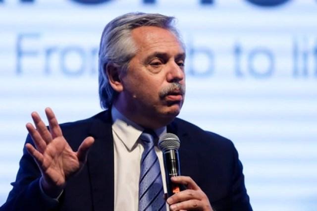 En la imagen, el presidente de Argentina, Alberto Fernández (EFE/Juan Ignacio Roncoroni/ archivo)