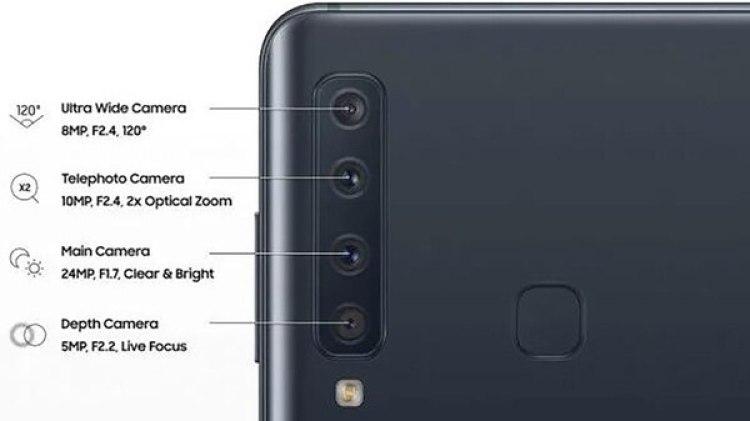 Cada una de las lentes traseras tiene una función en particular.