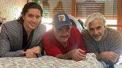 Reencuentro de tres generaciones de Fernández