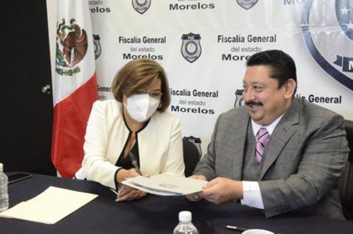 El fiscal de Morelos declaró el 5 de febrero que no es la primera vez que se le intenta vincular en algún delito (Foto: Twitter/@urielgandara)