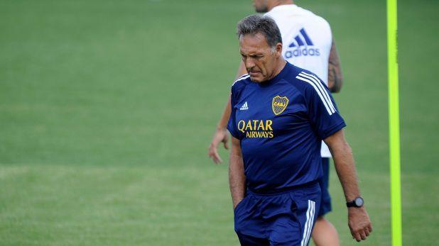 Russo espera por las novedades del Consejo de Fútbol para rearmar el plantel de Boca (Foto Baires)