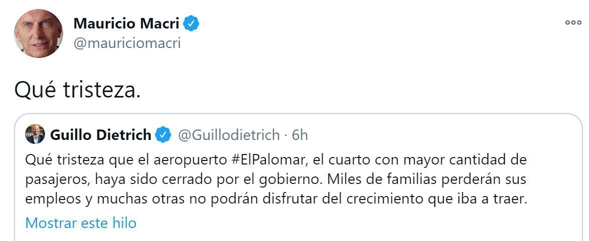 Mauricio Macri-El Palomar