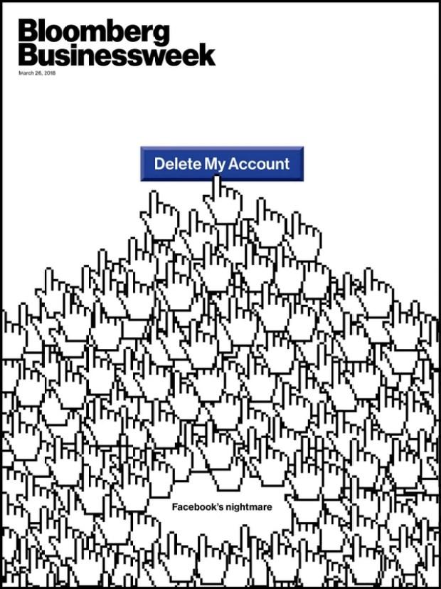 La portada de Bloomberg Businessweek insinúa una tendencia en crecimiento, con cada vez más usuarios que deciden alejarse definitivamente de Facebook