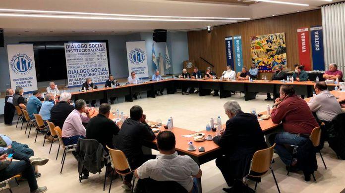 El consejo directivo de la CGT se reunió en la sede de la UOCRA