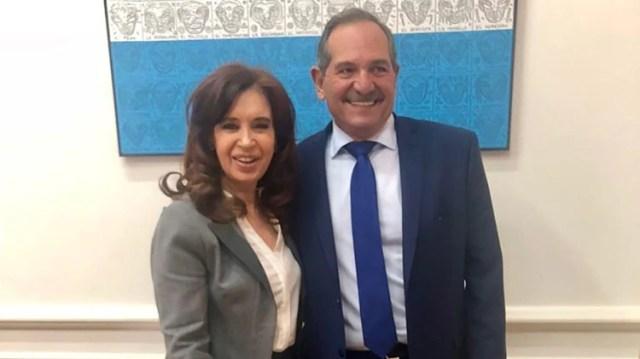Cristina Kirchner y José Alperovich