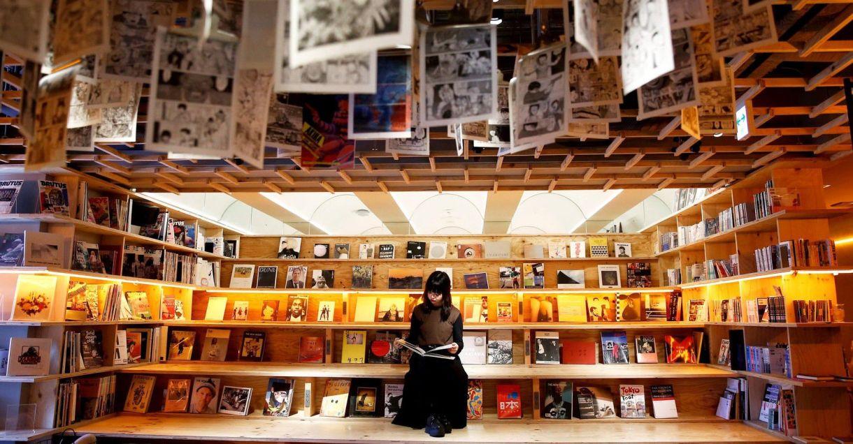 La librería Book and Bed del distrito especial Shinjuku, en Tokio, Japón. /Kim Kyung-Hoon/Reuters