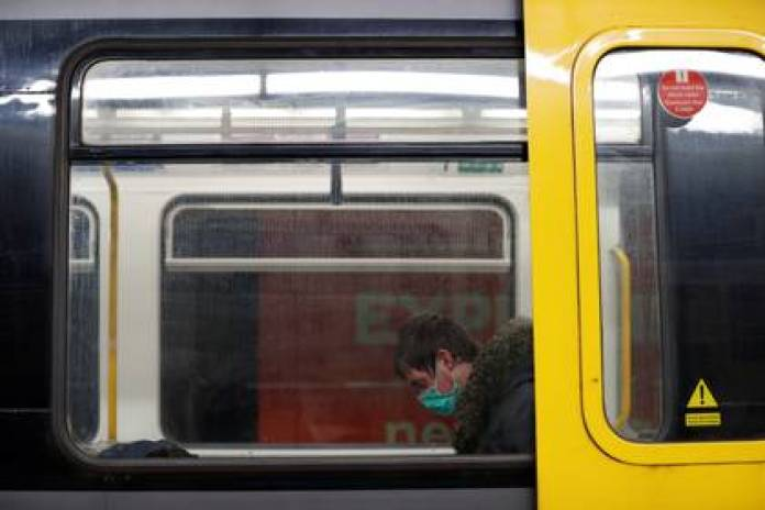 El metro de Newcastle, casi sin pasajeros (Reuters)