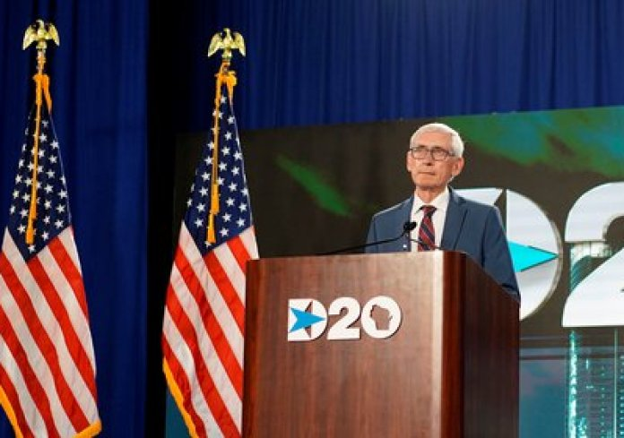 Tony Evers, Democratic Governor of Wisconsin (Melina Mara / Pool via REUTERS)