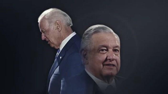 Panorama de la relación entre López Obrador y Joe Biden. (Foto: Jovani Pérez Silva/Infobae México)