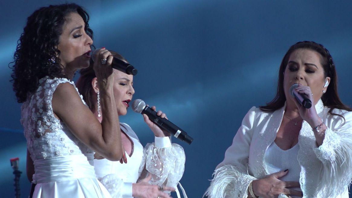 """El trío Pandora, en su formación original, interpretó los éxitos del """"Triste"""""""