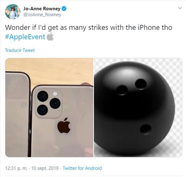 """""""Me pregunto si se podrán hacer chuzas con el iPhone"""". (Foto: Twitter)"""