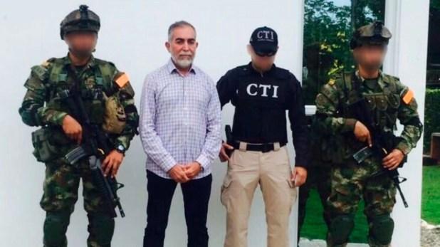 José Bayron Piedrahíta Ceballos fue capturado el 29 de septiembre de 2017 en una de sus haciendas en Caucasia.