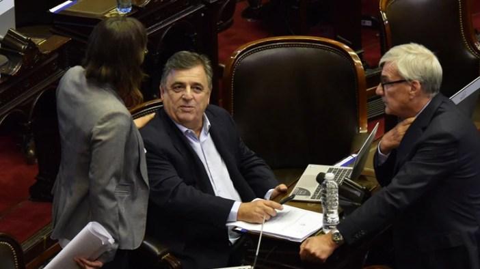 Mario Negri en la sesión de esta tarde (Franco Fafasuli)
