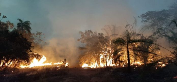 Bolivia está en alerta por los incendios