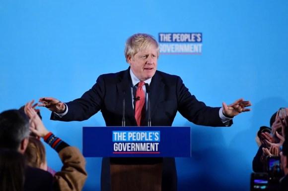 Boris Johnson (REUTERS/Dylan Martínez)