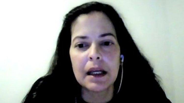 Waleswka Pérez, esposa del CC Acosta Arévalo