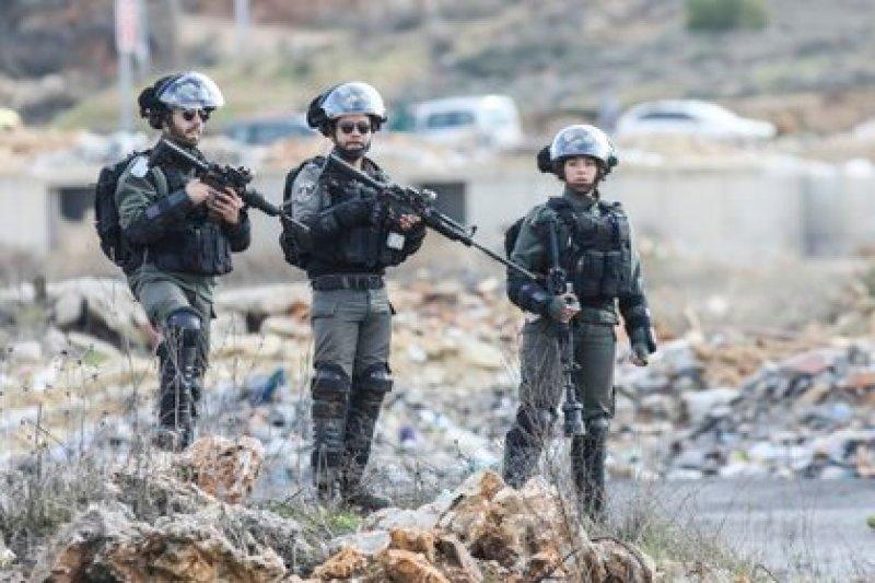 Soldados de Israel en Ramala, en Cisjordania (Ilia Yefimovich/dpa)