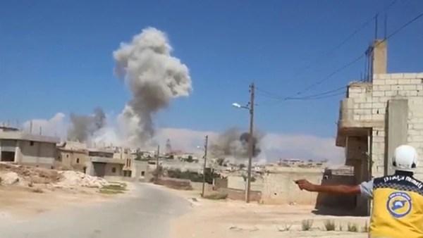 Idlib es blanco de bombardeos constantes desde hace varios días