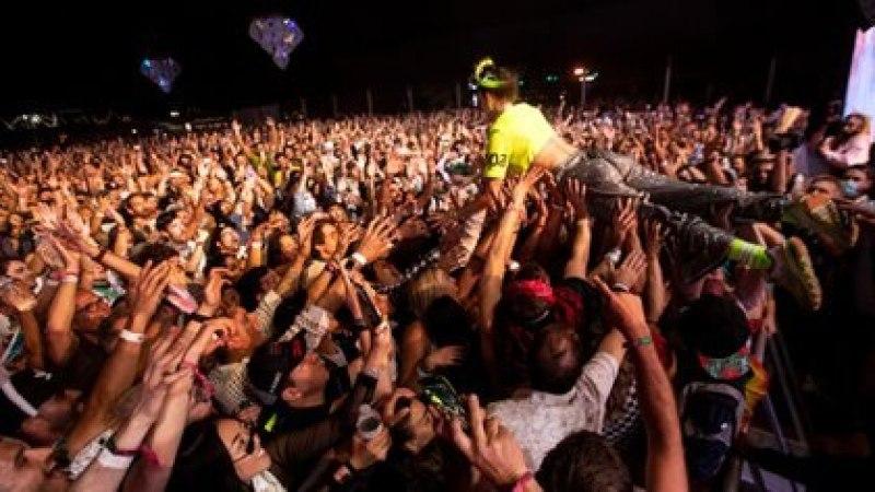 Tal parece que el festival de Coachella cada vez está más lejos. (Etienne Laurent/EPA, via Shutterstock)