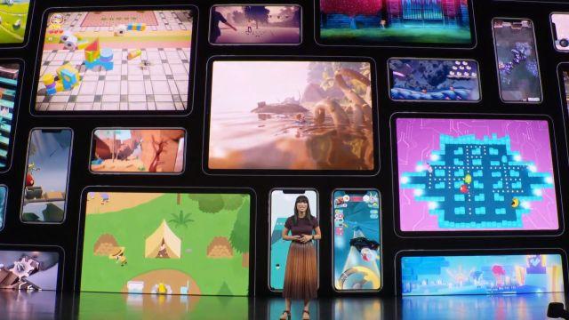 Se inició el encuentro con una presentación de las novedades que llegan a Apple Arcade.