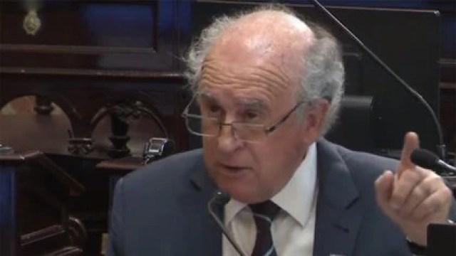 Oscar Parrilli, senador nacional y vocero político de Cristina Fernández de Kirchner