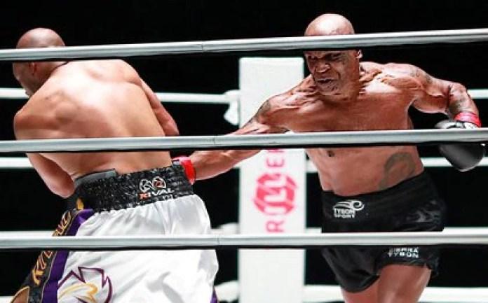 Mike Tyson peleó ante Roy Jones, Jr. en el Staples Center de Los Angeles (Foto: USA TODAY Sports)