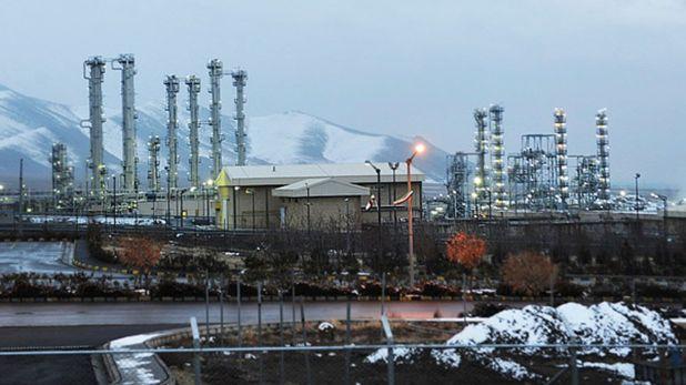 Planta de agua pesada en Arak, proyecto que podría ser reactivado por Irán (Archivo)