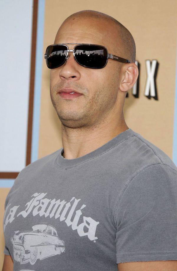 Vin Diesel, uno de los abanderados de la micropigmentación capilar (Frazer Harrison/Getty Images)