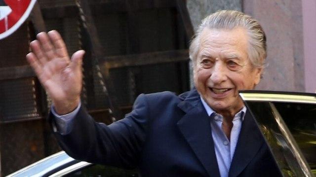 Franco Macri tenía 88 años (foto NA)