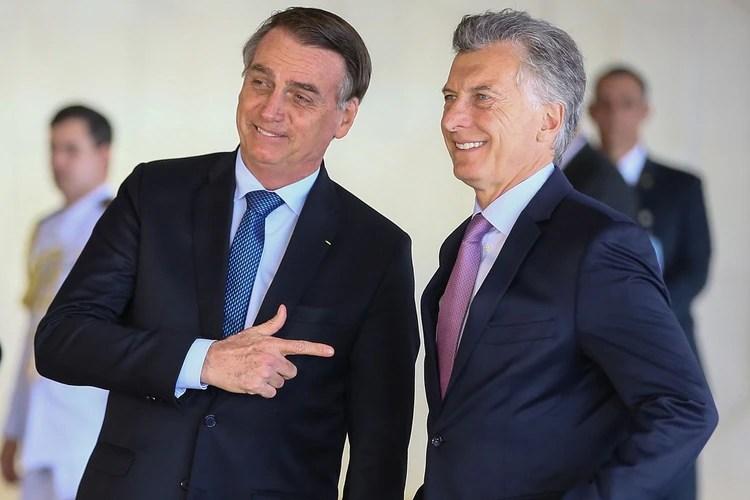 Macri visitó a Bolsonaro a comienzos de año y lo recibirá el 6 de junio en la Rosada