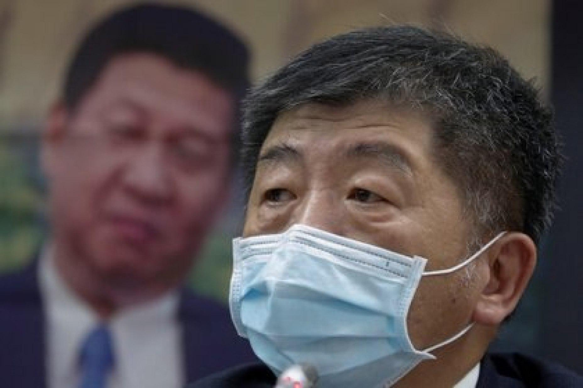 El ministro de Salud taiwanés, Chen Shih-chung (Reuters)