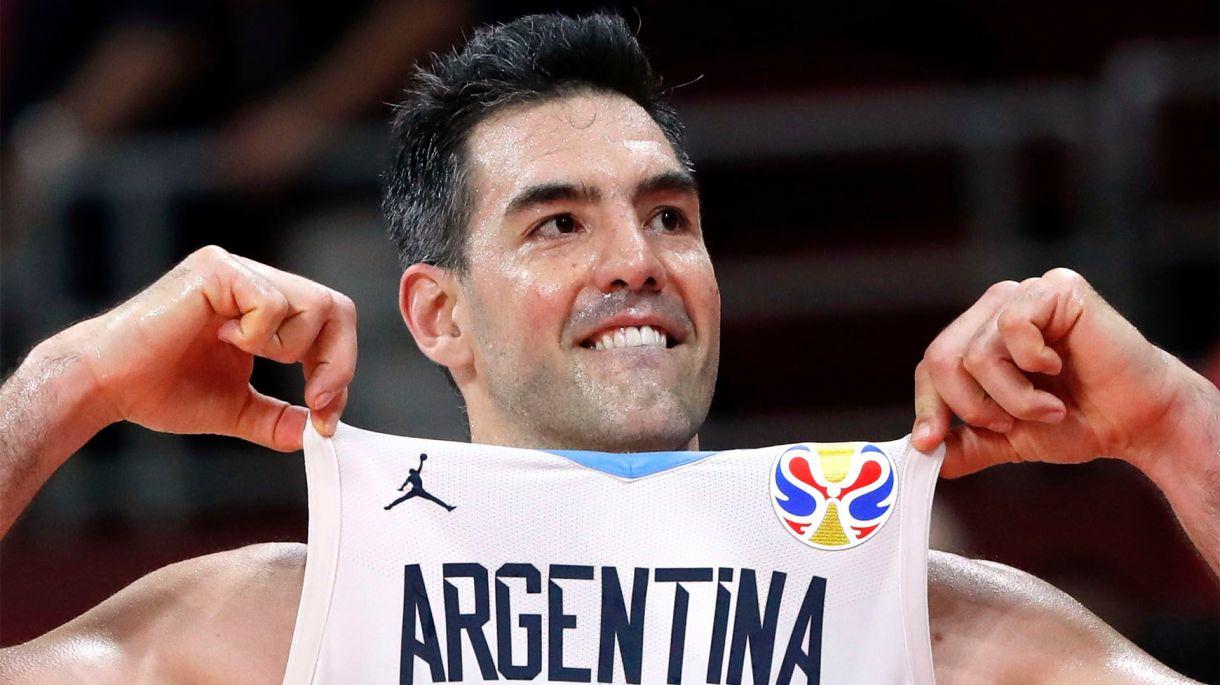Luis Scola, la gran figura en la victoria de Argentina (REUTERS/Kim Kyung-Hoon)