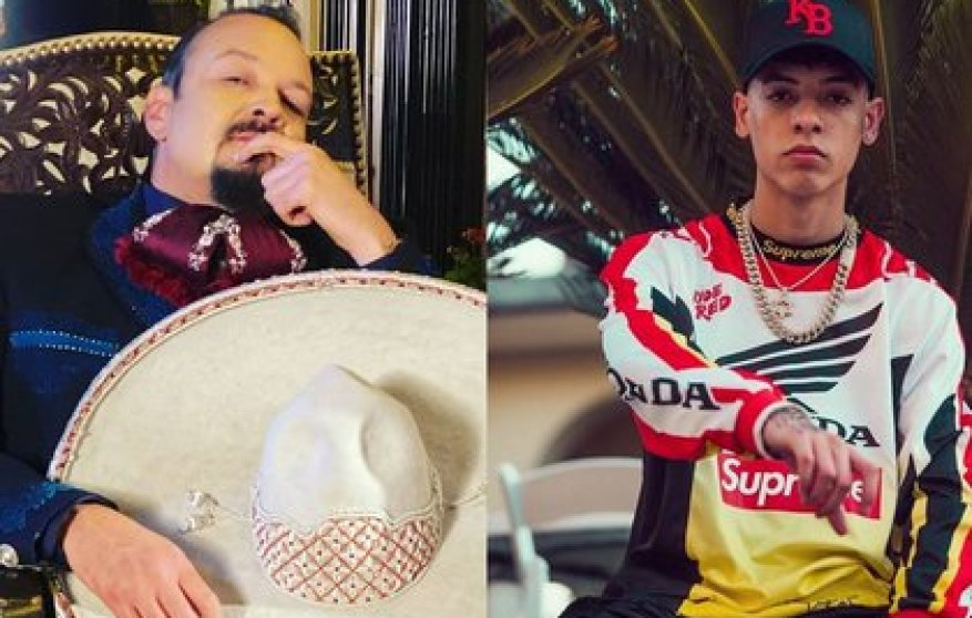 Pepe Aguilar and Natanael Cano starred in a crossroads of statements (IG: pepeaguilar_oficial / natanael_cano)