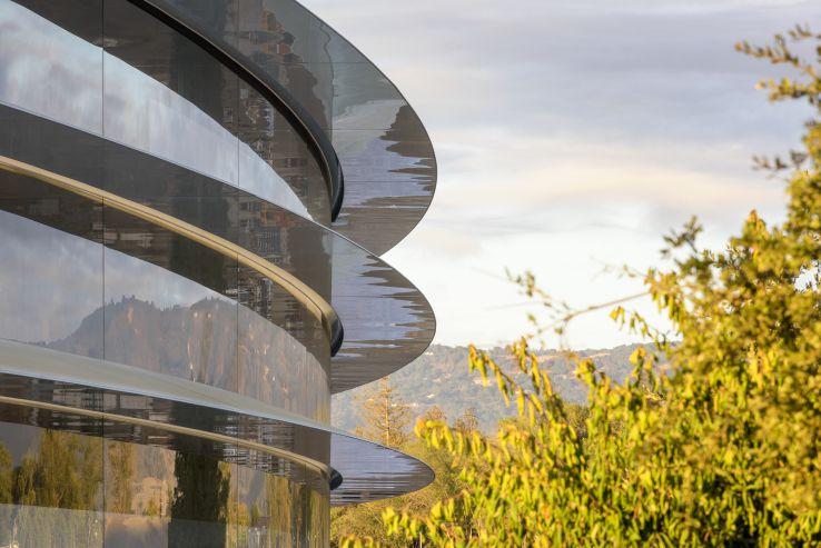La nave espacial de Apple cuenta con vidrio tratado y azulejos especialmente diseñados para su estructura. (Foto: Archivo)