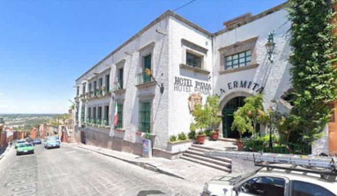 "Hotel ""La Ermita"" FOTO: Captura de pantalla/Google maps"