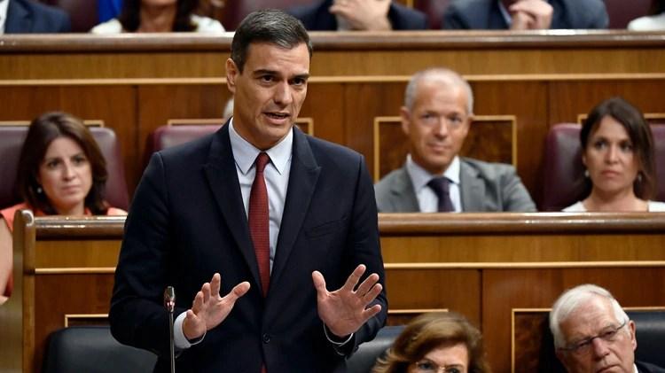 Pedro Sánchez busca conformar una mayoría en el parlamento español en estos días