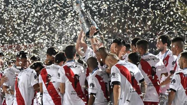 River Plate es el defensor del título de la Copa Argentina