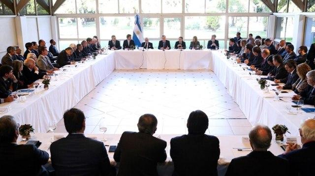 La reunión de hoy en Olivos entre Macri y los representantes empresariales