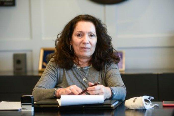 Cristina Caamaño, interventora de la AFI.