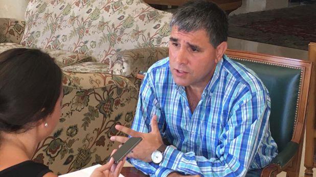 Daniel Vila, secretario general de la Unión Trabajadores Carga y Descarga (Carga y Desgarga)