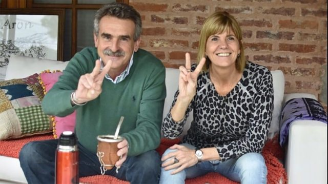 La foto de Agustín Rossi y Alejandra Rodenas luego de competir en las elecciones de 2017