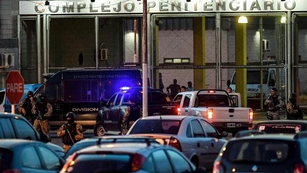 Las cárceles de Marcos Paz y Ezeiza, focos del IRIC. (Télam)