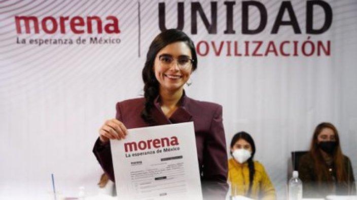 Paloma Aguilar fue escolta de AMLO antes de incorporarse al SAT bajo la administración del tabasqueño (Foto: Cortesía/ Especial)