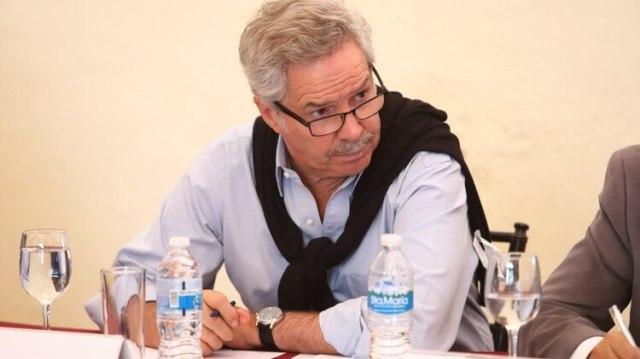 Felipe Solá, junto a Taiana y Tomada, representaron al Frente de Todos