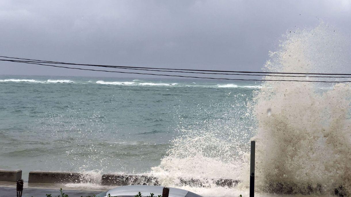 Las autoridades reportan fuertes destrozos en la isla (AFP)