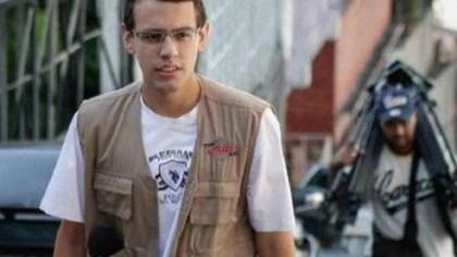 Darvinson Rojas, periodista venezolano que fue secuestrado por la dictadura de Maduro a través de la ley contra el odio
